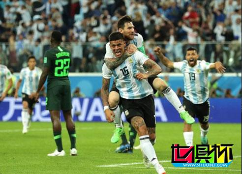 2018世界杯,梅西破门阿根廷2-1尼日利亚绝境出线!将战法国